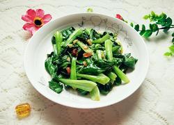蒜蓉炒小油菜