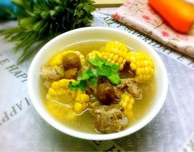 板栗玉米骨头汤[图]