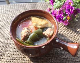 海带豆腐味噌汤[图]