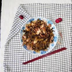 五花肉炒酸菜