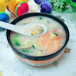 生滚海鲜粥的做法[图]