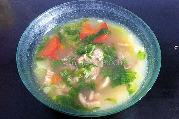 水滑肉的菜谱_痛风萝卜能吃做法排骨汤吗图片