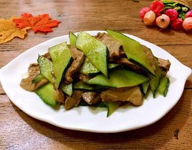 黄瓜炒猪肝[图]