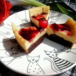 布朗尼芝士蛋糕的做法[图]