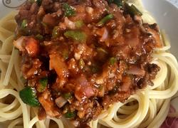 意大利番茄肉酱面