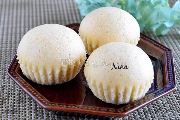 健康中式蒸蛋糕