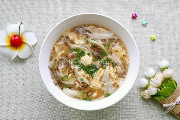 蘑菇煮鸡蛋_蘑菇鸡蛋汤的做法_菜谱_香哈网