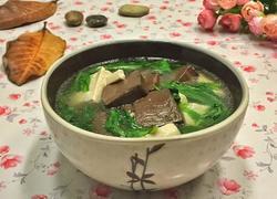 鸭血豆腐汤
