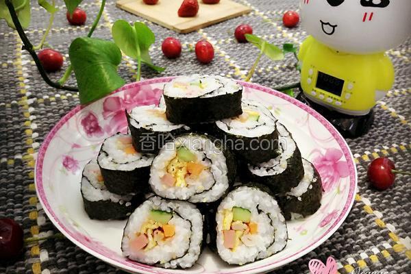 韩式辣酱紫菜包饭