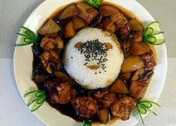 黄焖鸡米饭做法