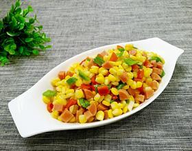 炒玉米粒[图]