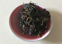 菜籽油清炒红觅菜