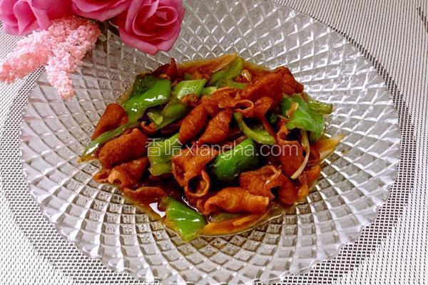 红烧青椒肥肠