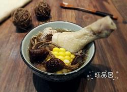 茶树菇玉米鸡汤