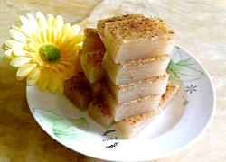 杏仁红枣椰汁马蹄糕