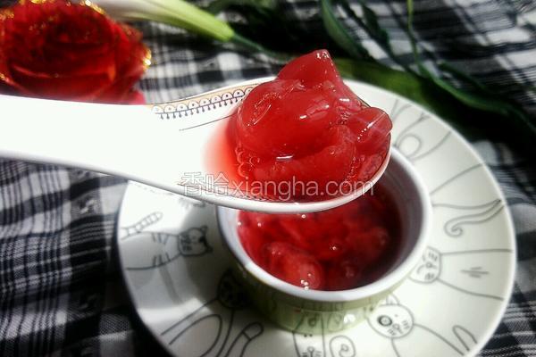 樱桃草莓罐头