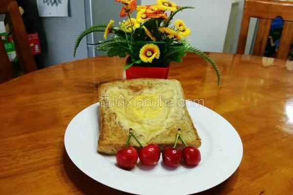 简单早餐之全麦面包鸡蛋