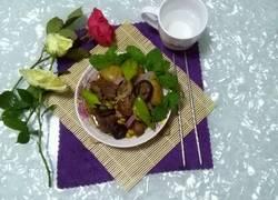土豆香菇焖鸭