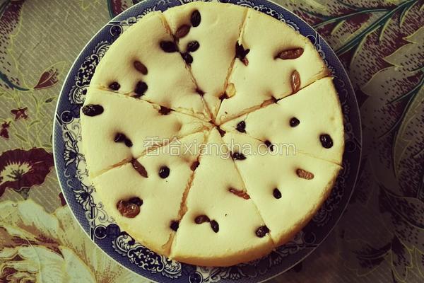 葡萄干酸奶蛋糕(电饭煲制作)