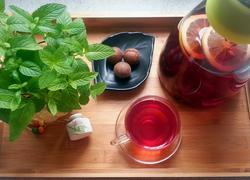 干花果柠檬红茶