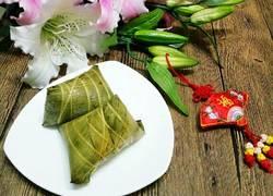 包粽子(蛋黄肉粽)