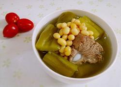 排骨苦瓜黄豆汤