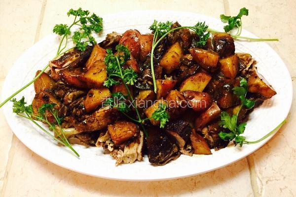 五味焖土豆鸭子