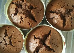 布朗尼杯子蛋糕(巧克力酱版的)
