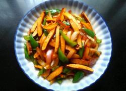 洋葱青椒炒豆干
