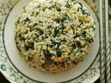 紫苏鸡蛋炒米饭的做法[图]