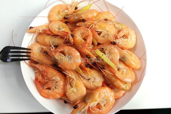 懒人菜之健康水煮虾