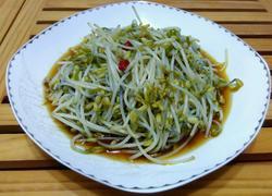 炝炒绿豆芽