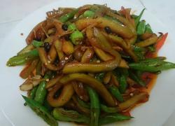 西瓜皮炒辣椒