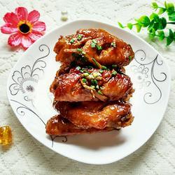 姜丝可乐鸡翅