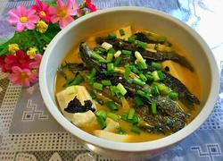 泥鳅炖豆腐