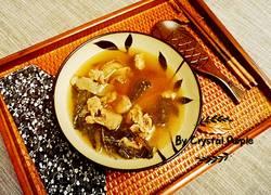 罗汉果玉竹菜干瘦肉汤