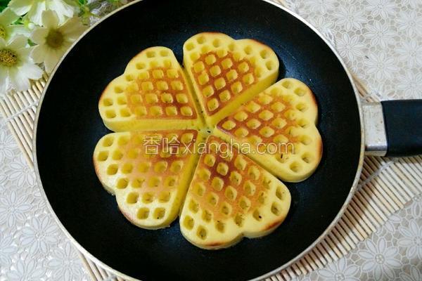 平底锅红枣酸奶华夫饼
