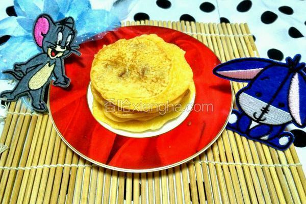奶香葡萄干玉米面饼