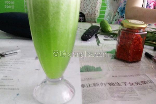 自制黄瓜汁