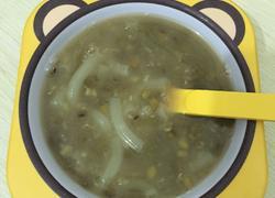 冰糖绿豆通心粉汤