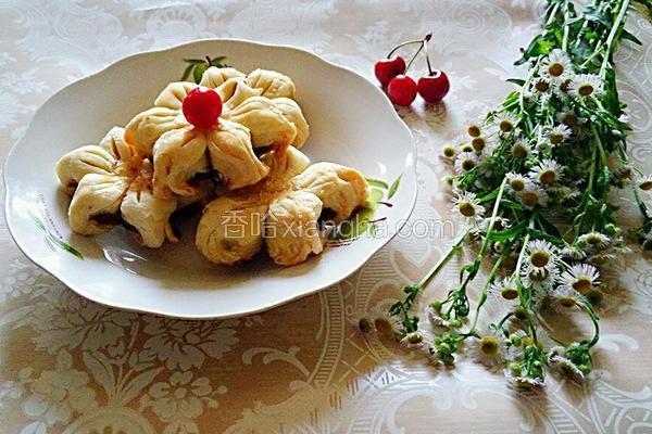 自制 老式 香甜葵花酥 (包酥)