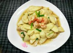 鲜笋炒虾仁