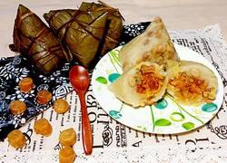 瑤柱咸蛋咸肉粽