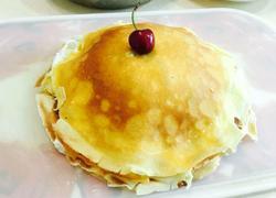 榴莲芒果千层蛋糕&班戟