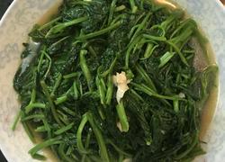 清炒蒜香空心菜