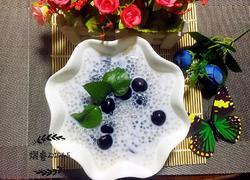 葡萄椰汁西米露