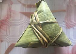 五香绿豆瘦肉粽