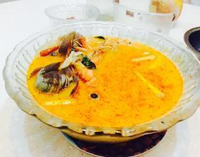 泰式冬阴功海鲜汤