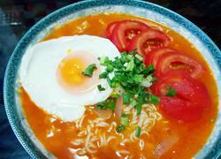 番茄鸡蛋面―将泡面煮出新高度