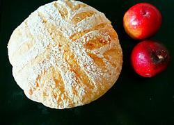 欧包 乡村面包 无油不用揉